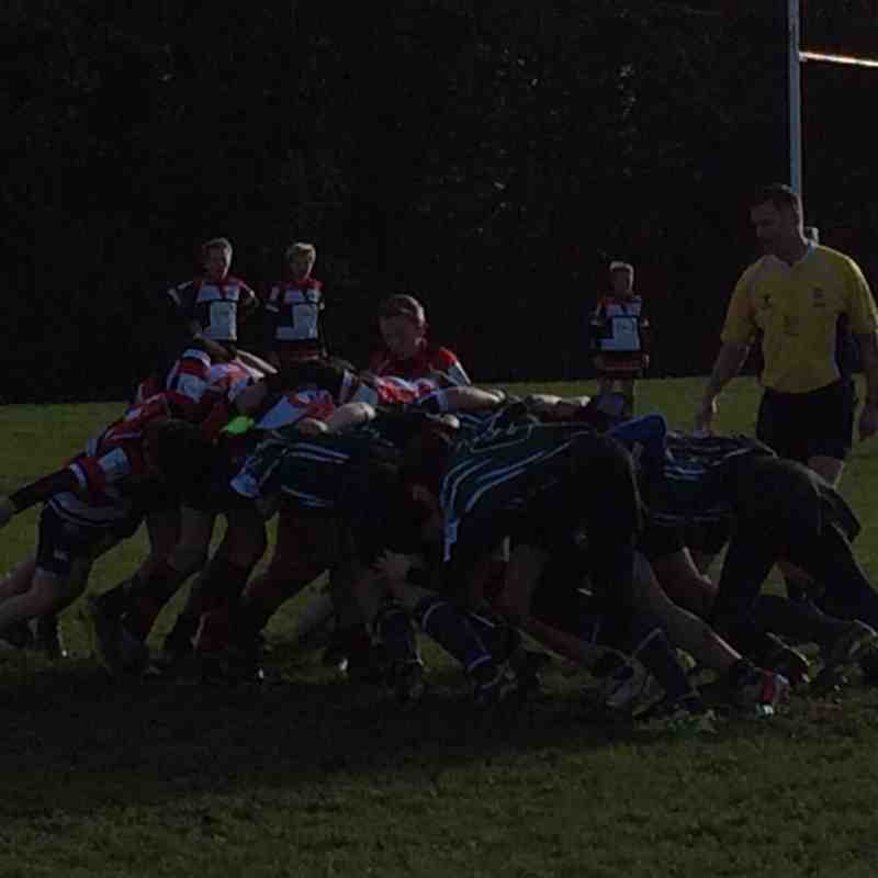 U13s League Match vs Jersey RFC 11 January 2015