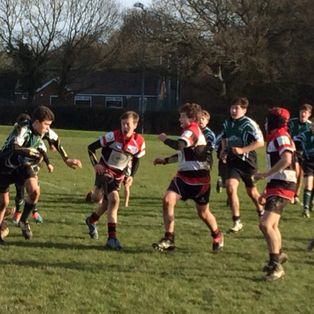 U13s victorious against a strong Jersey side