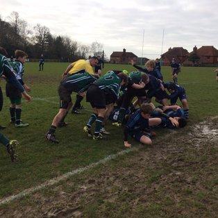 A tough match vs Chichester RFC