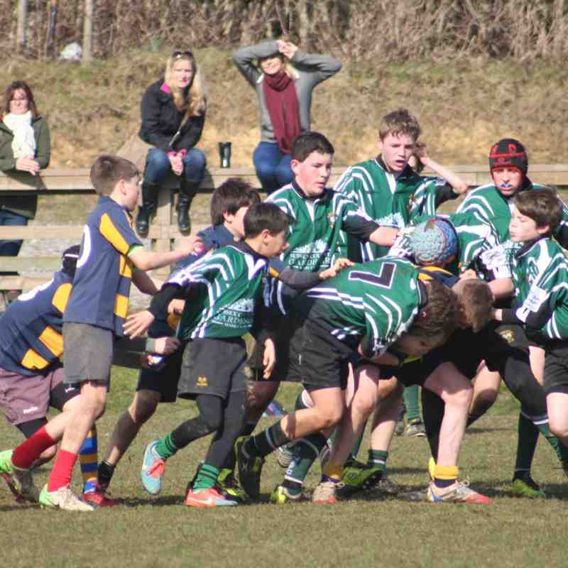 U13s vs Eastbourne RFC 8 March 2015