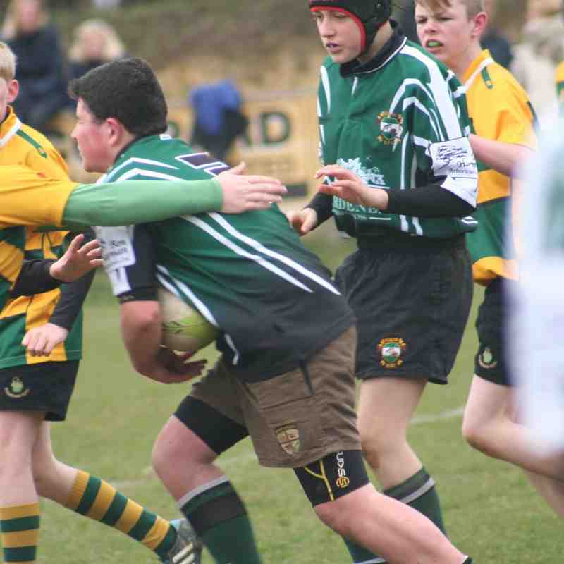 U13s Friendly vs Shoreham RFC 22 March 2015