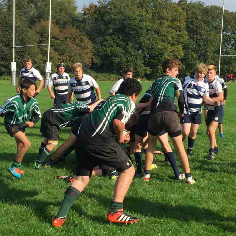 U14s away to East Grinstead RFC 11 October 2015