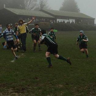 U14s take on Warlingham RFC