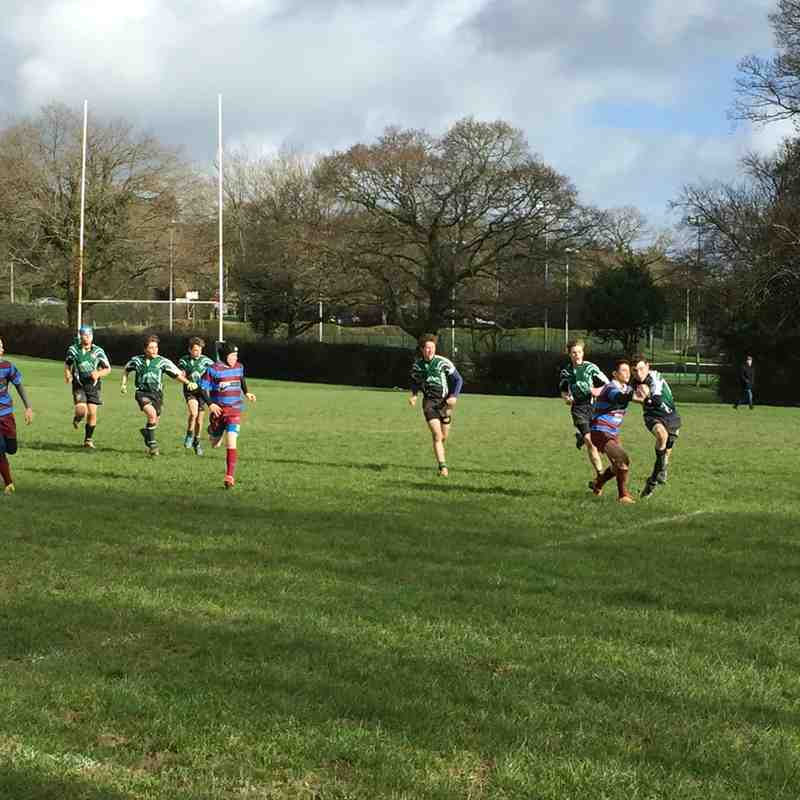 U14s league match vs Hove RFC 7 February 2016
