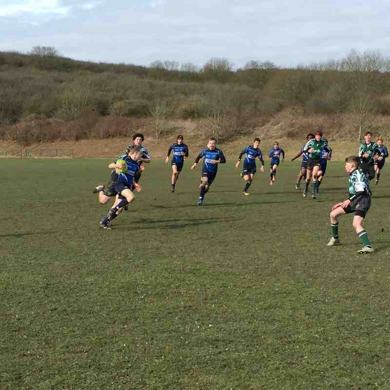 U14s League Match vs Brighton 28 February 2016