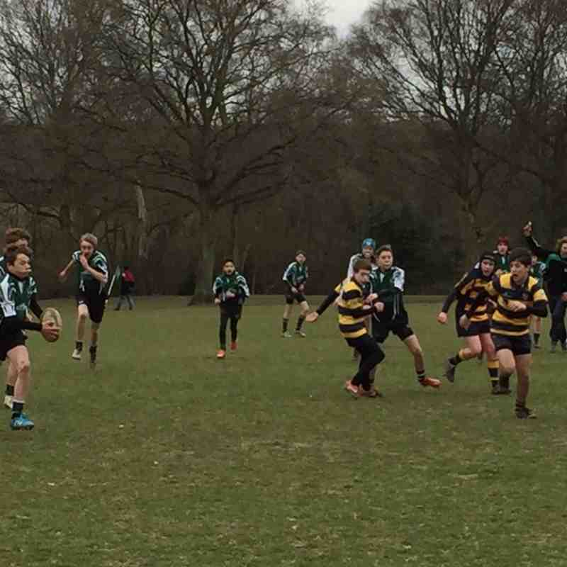 U14s vs Eastbourne 20 March 2016