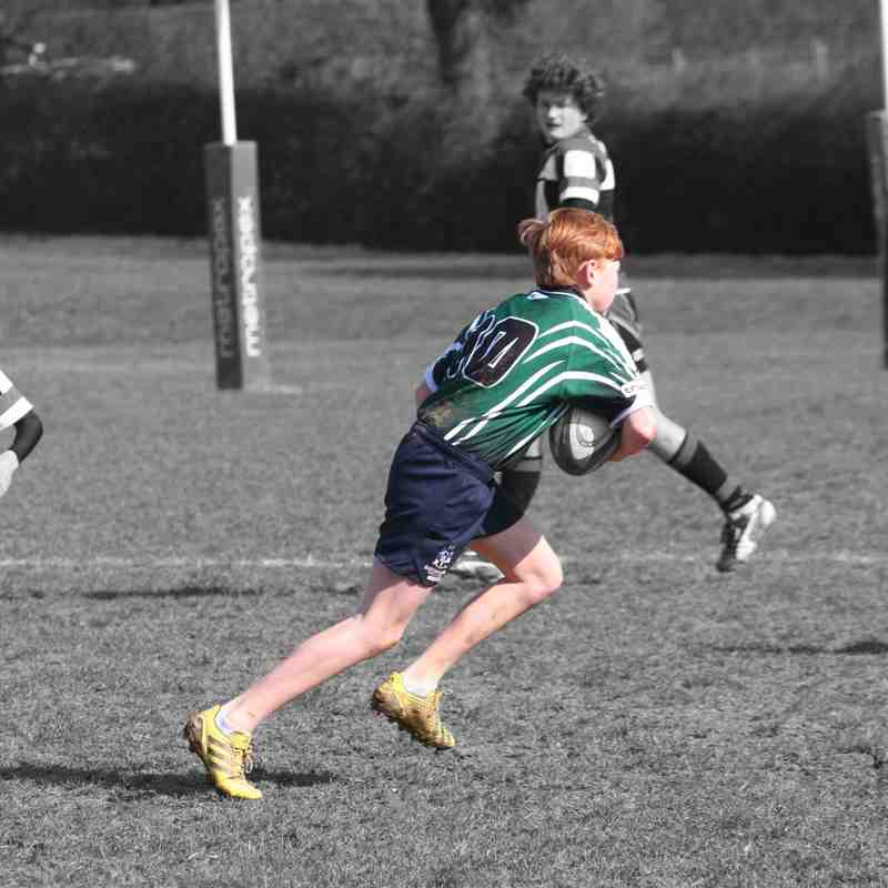 U14s League Match vs Jersey RFC 13 March 2016