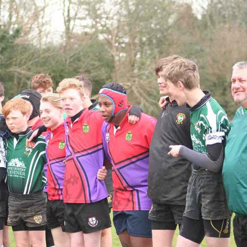 U14s host The Old Whits 16 April 2016