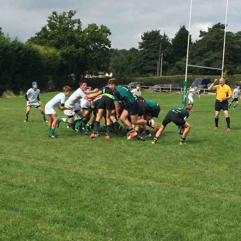 U15s vs Horsham Barbarians 18 September 2016