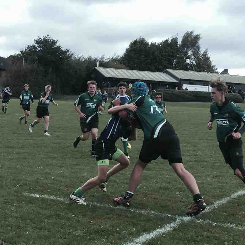 U15s League vs Bognor 16 October 2016