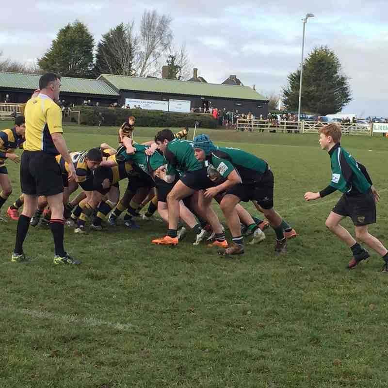 U15s League Match vs Eastbourne RFC 8 January 2017