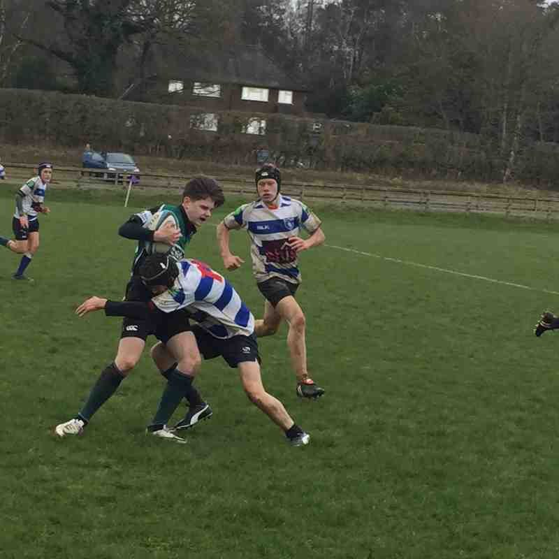 U15s League Match vs Lewes RFC 5 March 2017