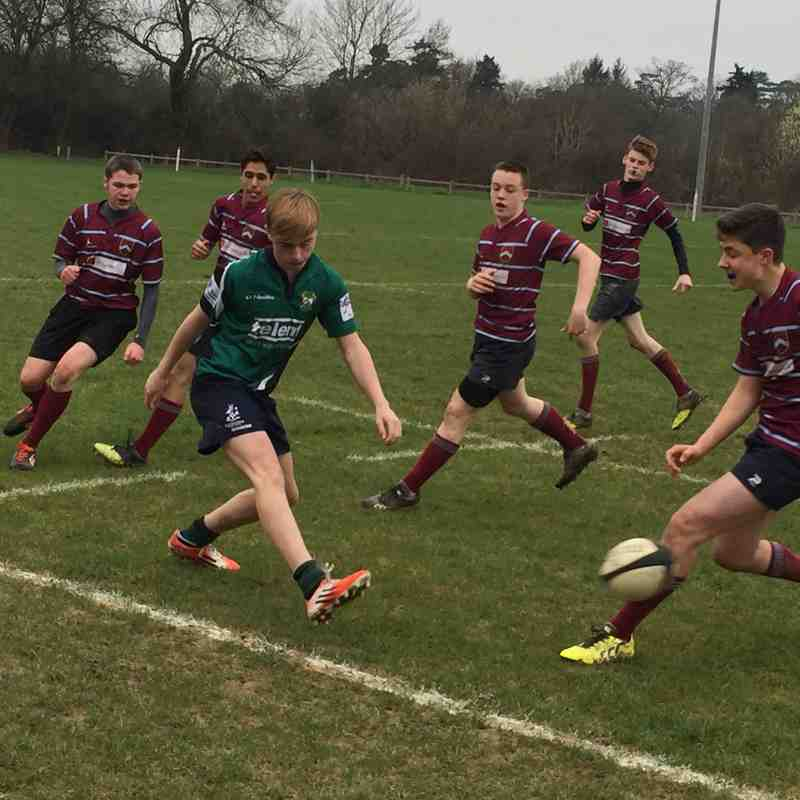 U15s League Match vs Crawley 12 March 2017