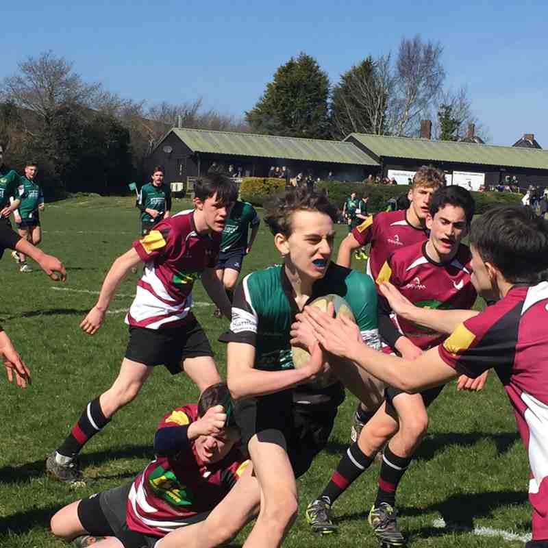 U15s vs Cranbrook RFC 26 March 2017
