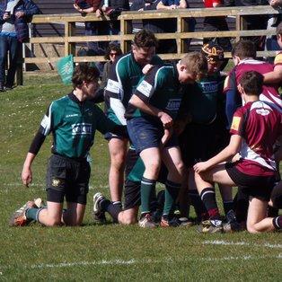 U15s vs Cranbrook RFC