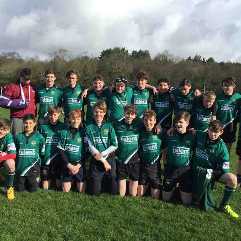 U15s The Jesters' Tour 2017