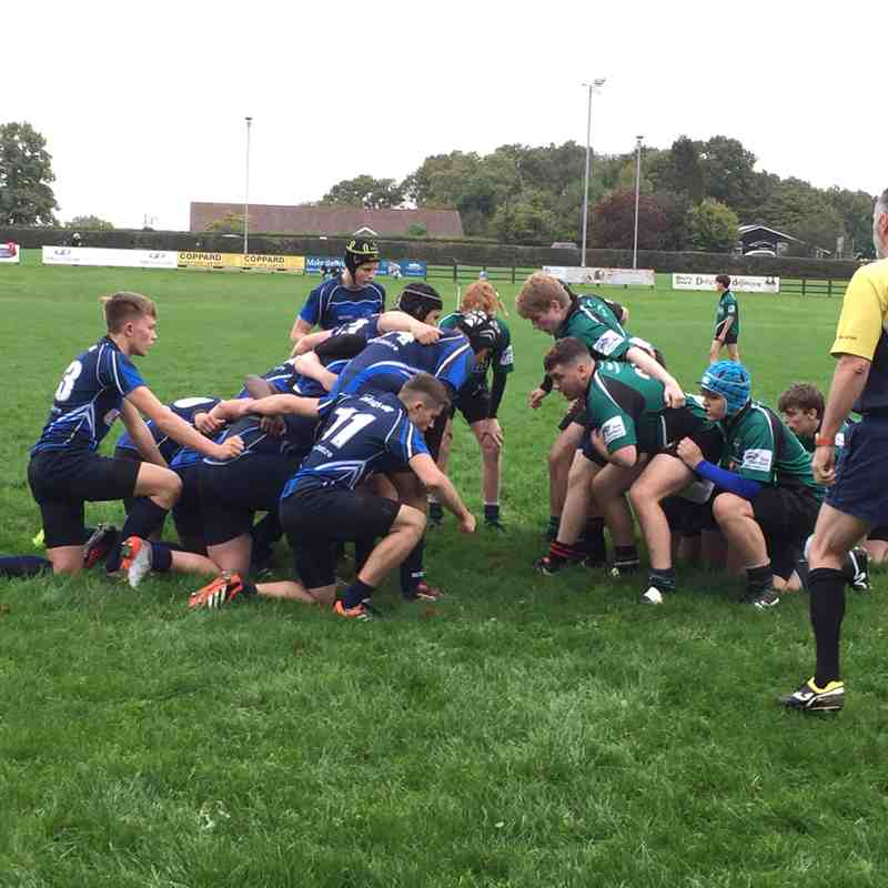 H&W U16s League Match vs Brighton RFC 1 October 2017