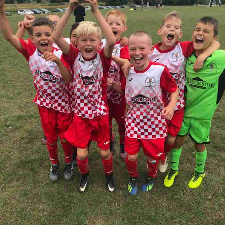 Under 8's and Under 10's shine this week