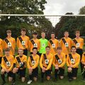 Under 16 Tigers beat Great Yarmouth Town F.C. U16 4 - 0