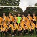 Under 16 Tigers beat Waveney F.C. U16 Panthers 10 - 1