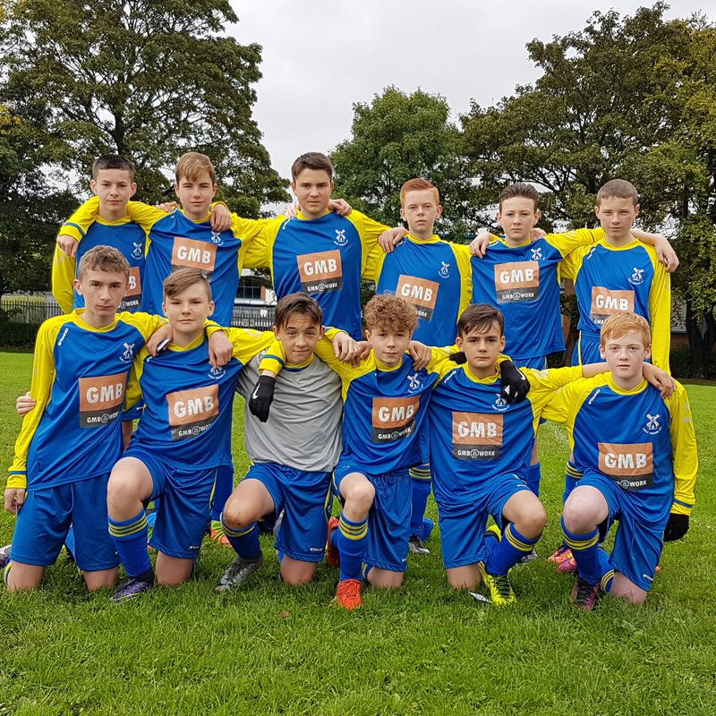 Shelf Juniors Under 15 beat Wyke Wndrs 4 - 1