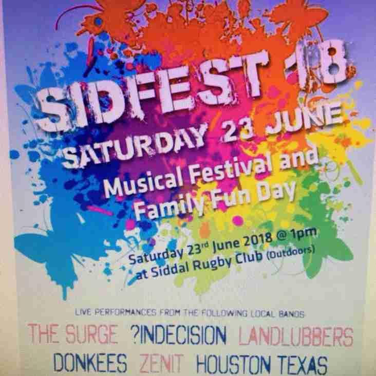 Sidfest is around the corner