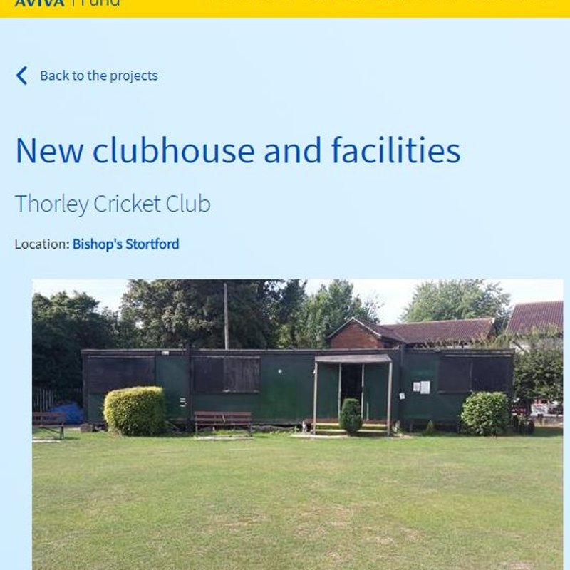 New Clubhouse Fundraiser
