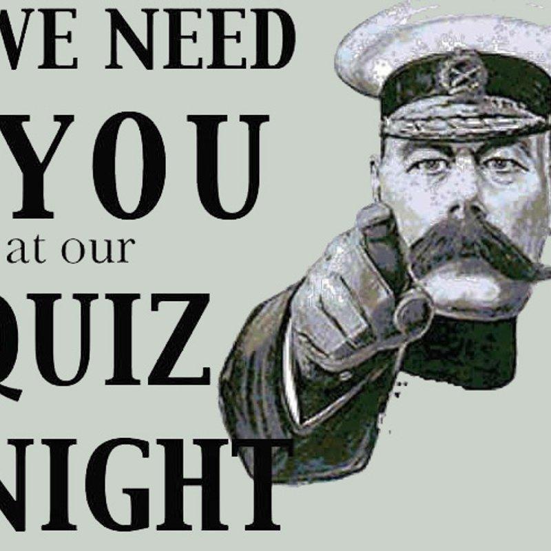 Quiz Night - Friday 5th October