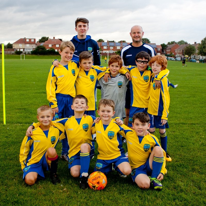 Under 9 Blues lose to New Fordley