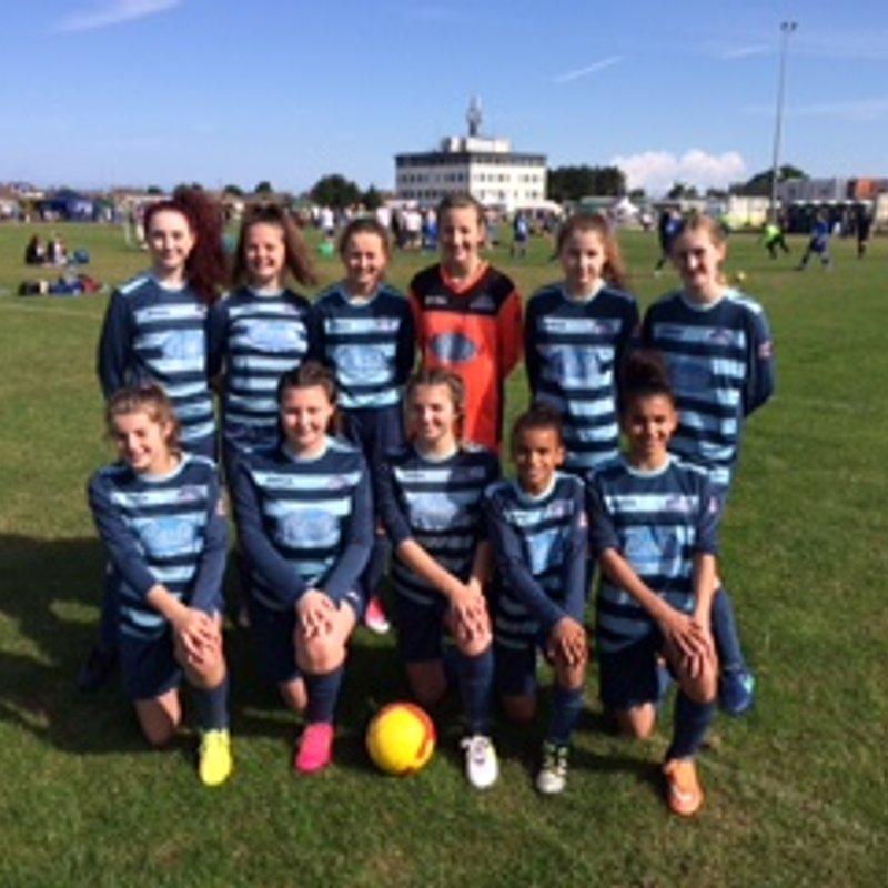 U15  girls lose to east goscote 2 - 3