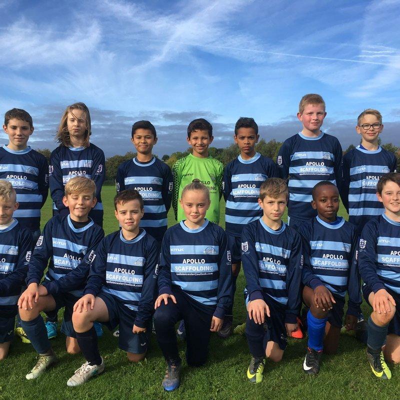 Under 12's Blues beat Kingsway Rangers 1 - 8