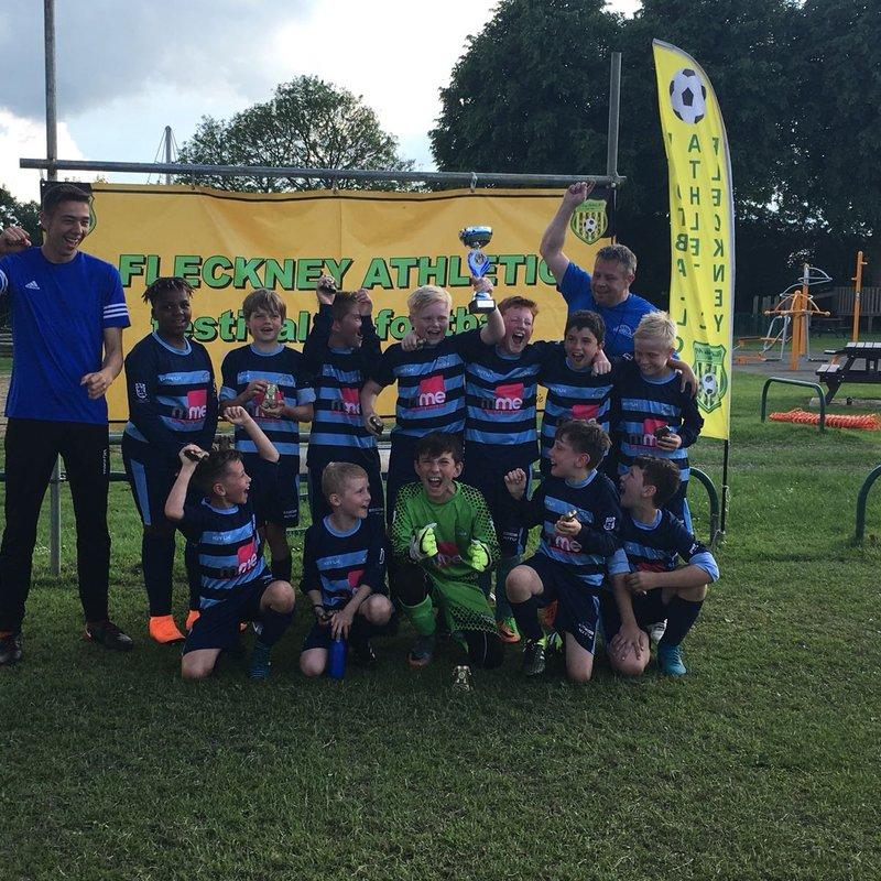 U11s win Fleckney Tournament (U12s 18/19)