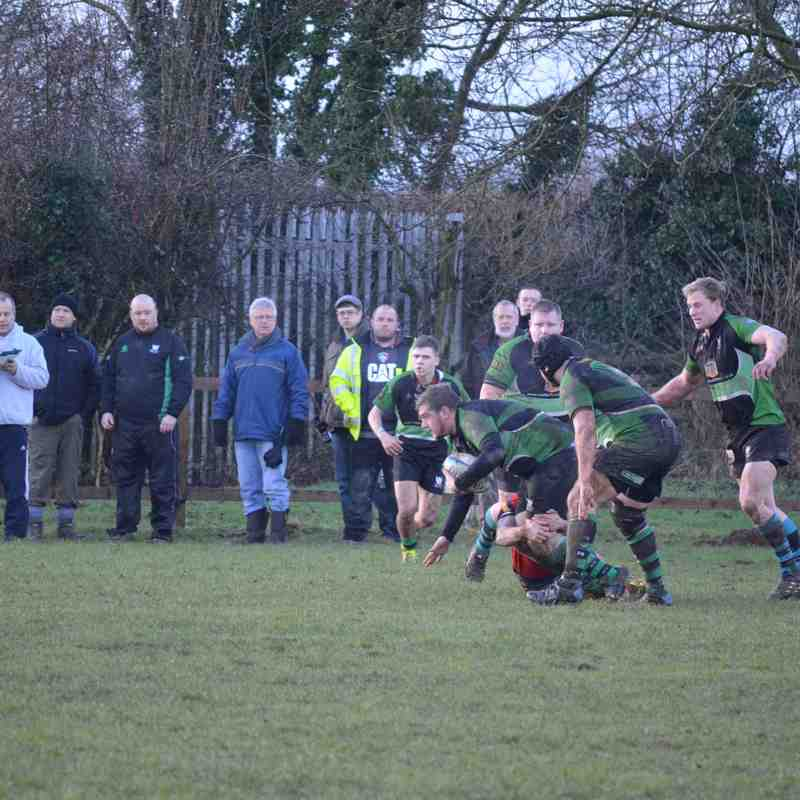 Sileby vs Ashfield - 3rd Jan 2015