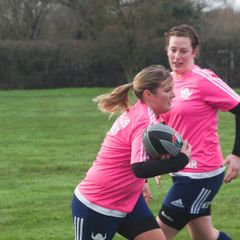 Sileby Vikings Ladies training