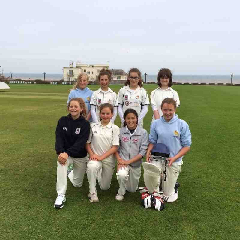 Sidmouth Girls U13 team