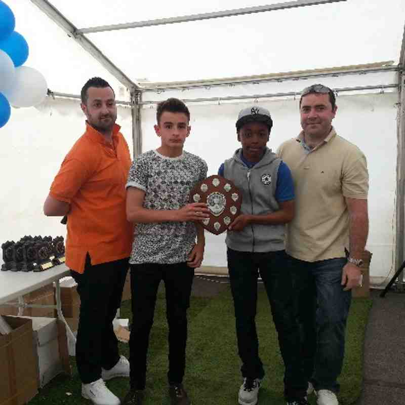 Youth Section Presentation Day 2013/14
