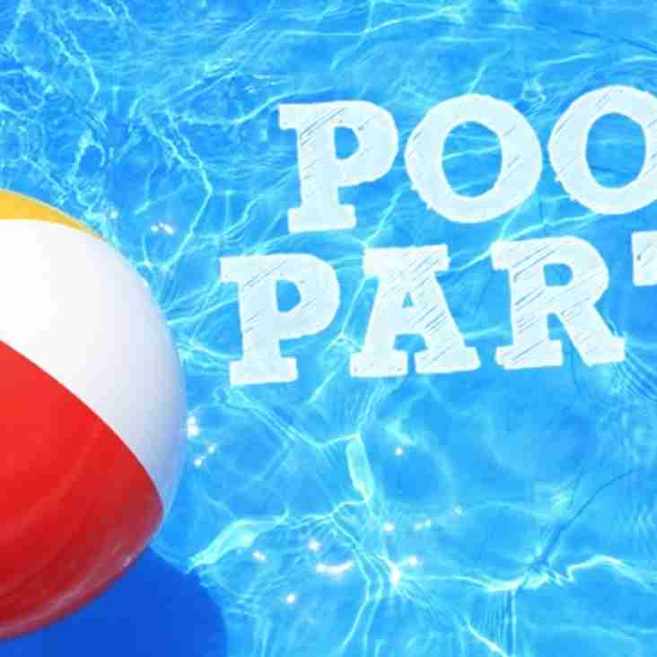 Save the Date Minis Pool Party