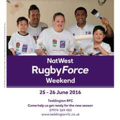 NatWest RugbyForce 2016 - We need you help