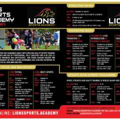 Lions Sports Academy Summer camps
