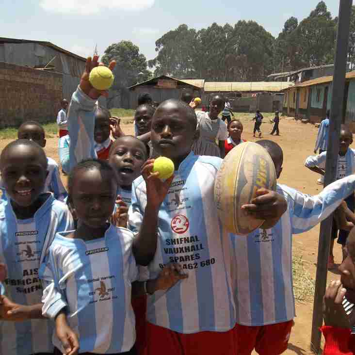 What happened to the Rugby Balls we donated last year?