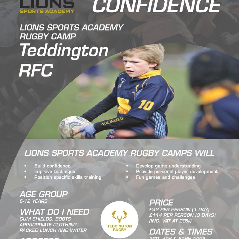 Teddington RFC - Easter Camp