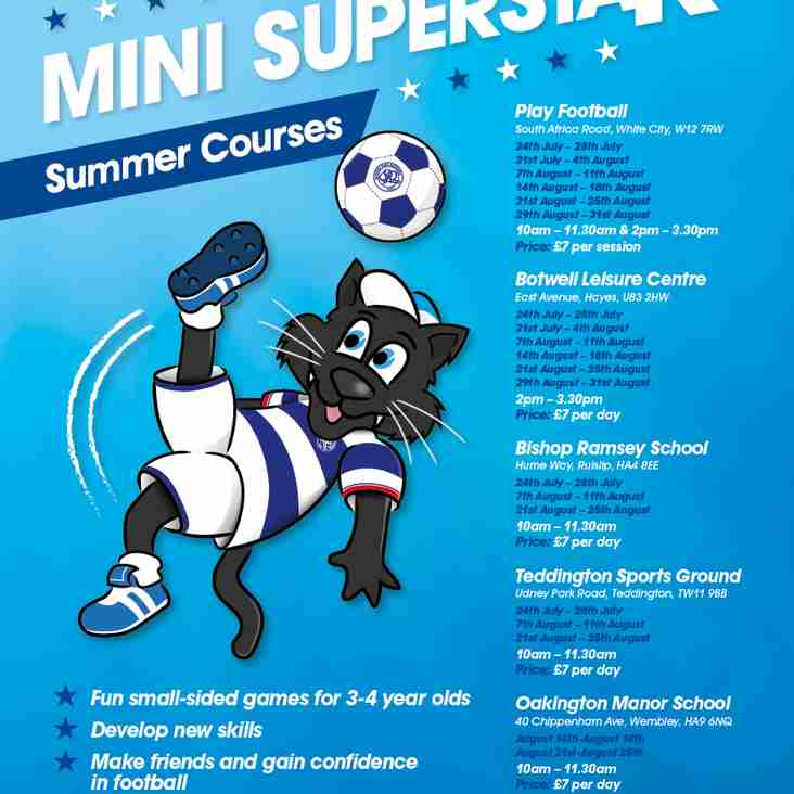 QPR Toddler Soccer Schools 3-4 year olds