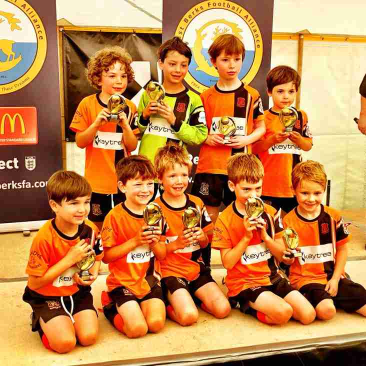U7 Tornadoes  in the Trophy Finals