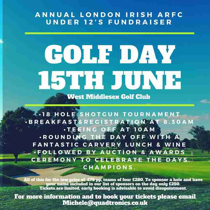 Golf Day 15th June