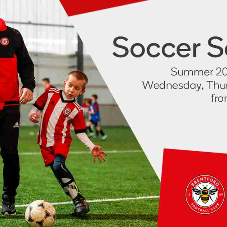 Brentford summer soccer school available with Hearts discount