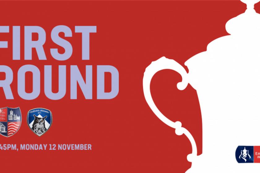 Hampton & Richmond V Oldham Athletic - The Emirates FA Cup 1st Round