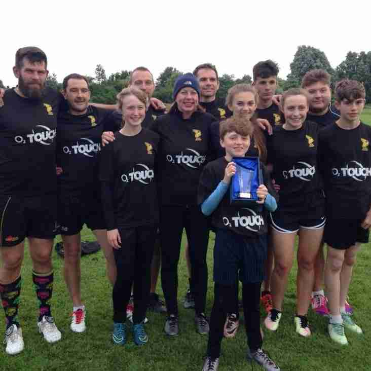 Bury Bandits win Bowl in Cambridge Touch League