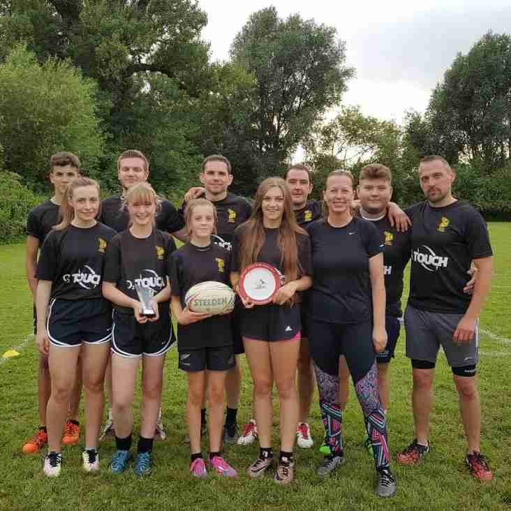 More great performances from Bury O2 Touch Team during busy weekend of Touch Rugby