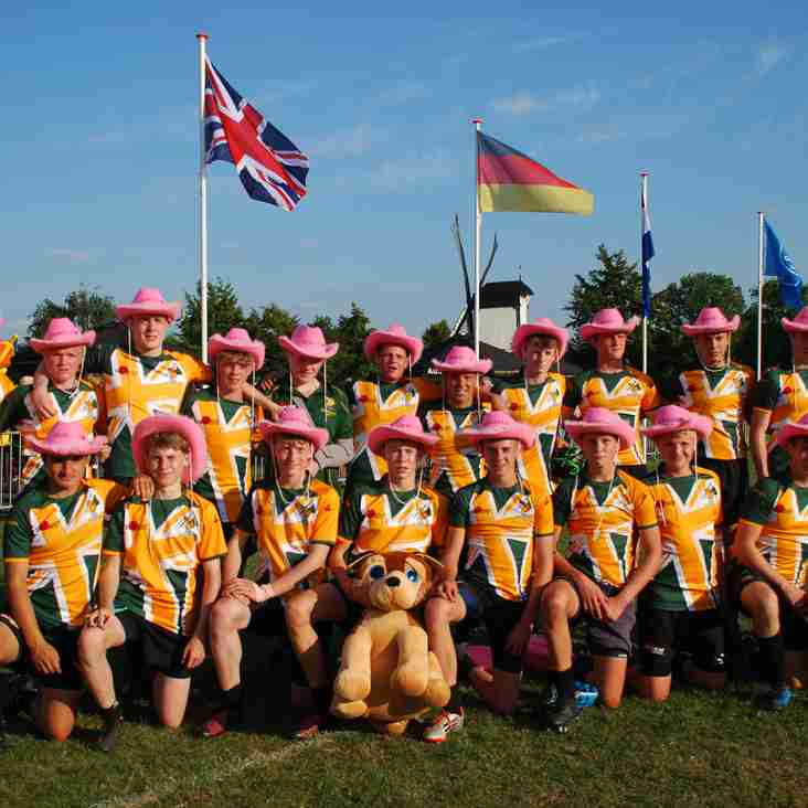 U16s victorious tour of Netherlands