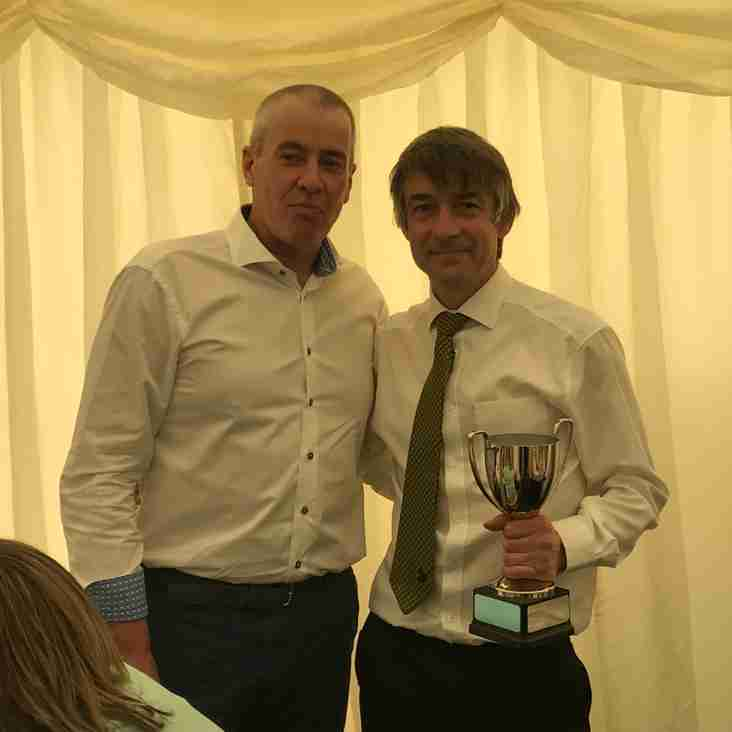 Chris Wilbraham wins Frames Conservatories Direct Above and Beyond Award 2018
